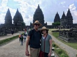 Parents at Prambanan
