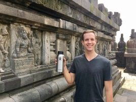 There's no better way to hydrate in the hot Indonesian sun than with Hydroflask!