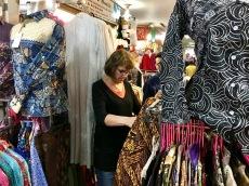 Shopping at Pasar Baru in Bandung