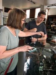 Yogyakarta has a pretty well known silver industry